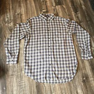 Men's Banana Republic lightweight flannel shirt